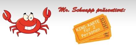 Schnapp präsentiert Ware Kinokarten